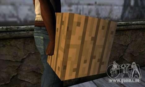Block (Minecraft) v11 für GTA San Andreas dritten Screenshot