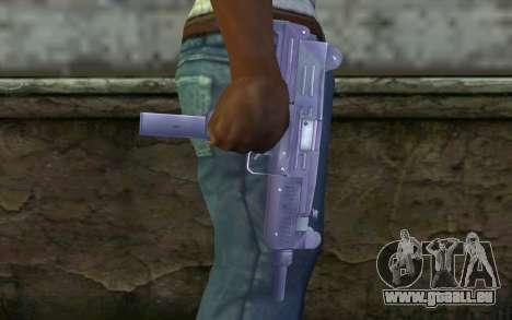 UZI für GTA San Andreas dritten Screenshot