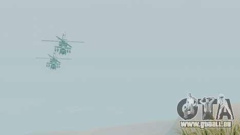 Zone de récupération 69 pour GTA San Andreas deuxième écran
