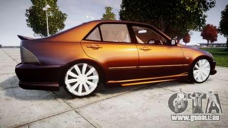 Toyota Altezza für GTA 4 linke Ansicht