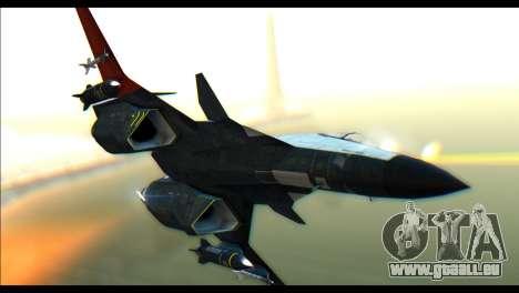 ADFX-02 Morgan pour GTA San Andreas sur la vue arrière gauche