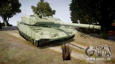 Leopard 2A7 ES Green pour GTA 4