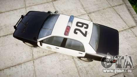 GTA V Vapid Police Cruiser Rotor für GTA 4 rechte Ansicht