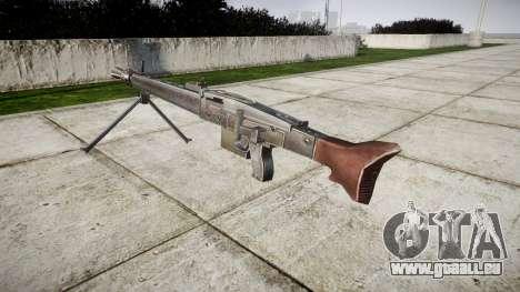 Allemand MG3 mitrailleuse icon2 pour GTA 4 secondes d'écran