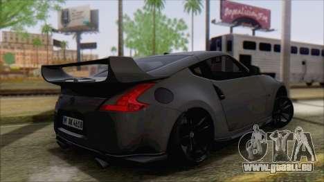Nissan 370Z für GTA San Andreas linke Ansicht