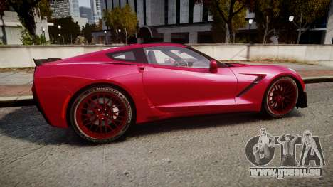 Chevrolet Corvette Z06 2015 TireMi2 für GTA 4 linke Ansicht