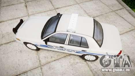 Ford Crown Victoria [ELS] Liberty County Sheriff pour GTA 4 est un droit