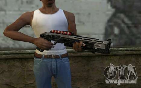Shotgun from Deadpool für GTA San Andreas dritten Screenshot