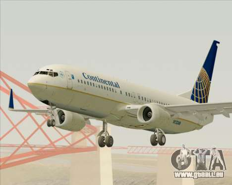 Boeing 737-800 Continental Airlines pour GTA San Andreas