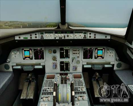 Airbus A320-200 Airphil Express pour GTA San Andreas salon