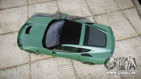 Chevrolet Corvette C7 Stingray 2014 v2.0 TireMi3 für GTA 4 rechte Ansicht