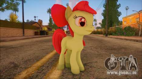 Applebloom from My Little Pony pour GTA San Andreas