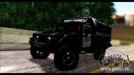 SWAT Enforcer für GTA San Andreas