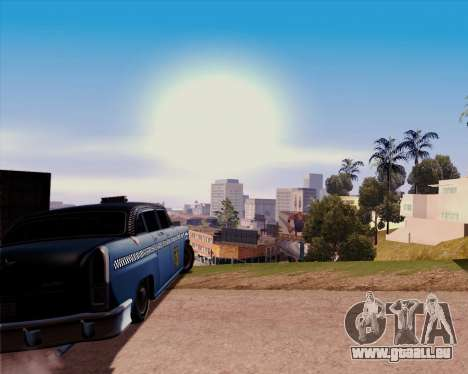 Borgnine pour GTA San Andreas sur la vue arrière gauche