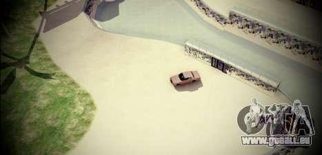 Skate Park pour GTA San Andreas deuxième écran