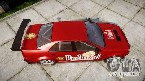 Albany Presidente Racer [retexture] Redwood pour GTA 4 est un droit