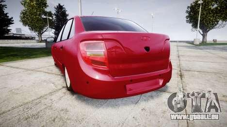VAZ 2190 für GTA 4 hinten links Ansicht