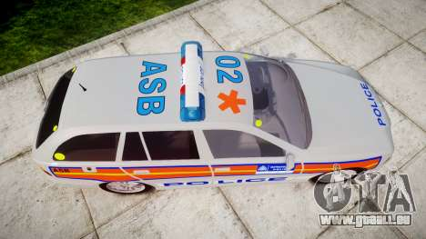 BMW 525i E39 Touring Police [ELS] JSARVV pour GTA 4 est un droit