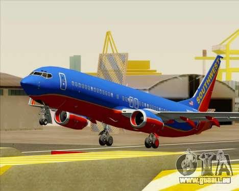 Boeing 737-800 Southwest Airlines für GTA San Andreas