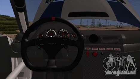 BMW M3 E46 GTR für GTA San Andreas Innen