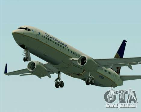 Boeing 737-800 Continental Airlines für GTA San Andreas Motor