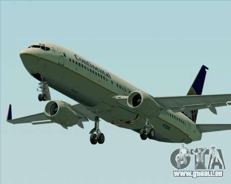Boeing 737-800 Continental Airlines pour GTA San Andreas moteur