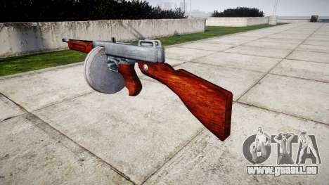Pistolet mitrailleur Thompson M1A1 tambour icon2 pour GTA 4 secondes d'écran