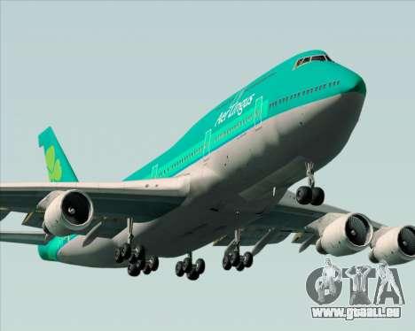 Boeing 747-400 Aer Lingus für GTA San Andreas Motor