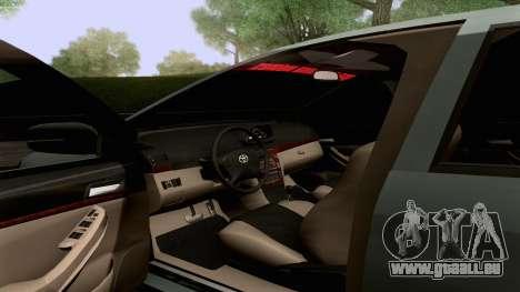 Toyota Vios Extreme Edition für GTA San Andreas obere Ansicht