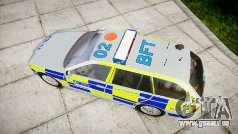 BMW 525i E39 Touring Police [ELS] BTV pour GTA 4 est un droit