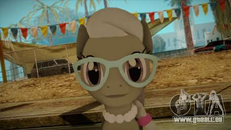 Silverspoon from My Little Pony pour GTA San Andreas troisième écran