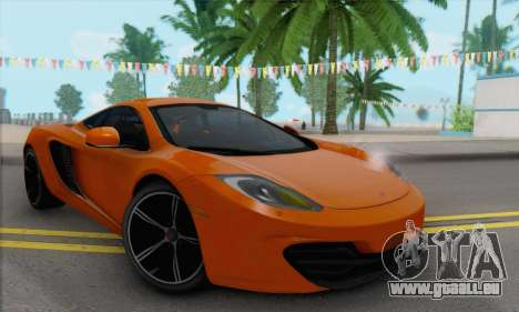 McLaren MP4-12C Gawai v1.4 für GTA San Andreas