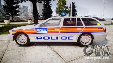 BMW 525i E39 Touring Police [ELS] JSARVV für GTA 4 linke Ansicht