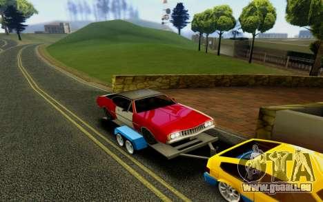 Trailer für GTA San Andreas rechten Ansicht