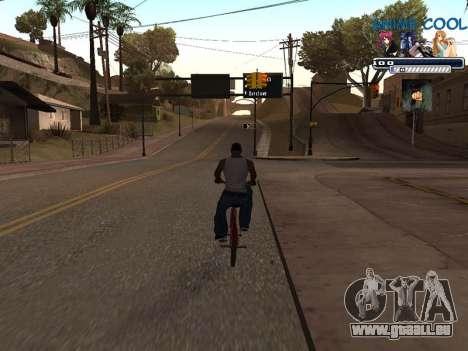 Anime C-HUD für GTA San Andreas dritten Screenshot