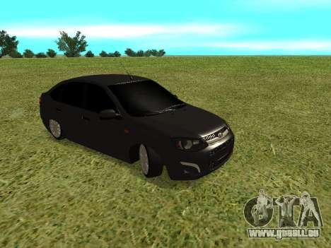 Lada Granta Kalina 2 pour GTA San Andreas laissé vue