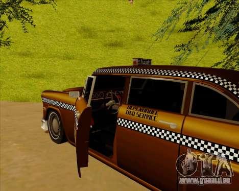 Borgnine pour GTA San Andreas laissé vue