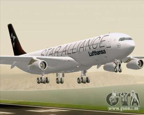 Airbus A340-300 Lufthansa (Star Alliance Livery) für GTA San Andreas
