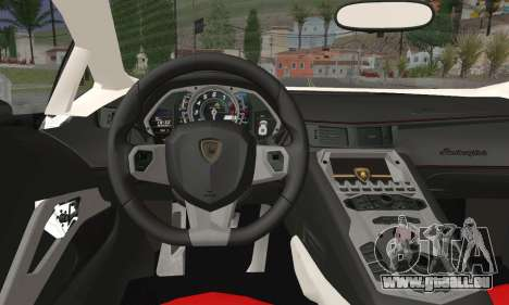 Lamborghini Huracan für GTA San Andreas zurück linke Ansicht