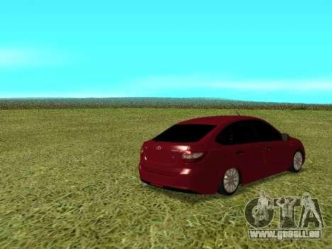 Lada Granta Kalina 2 pour GTA San Andreas vue de droite
