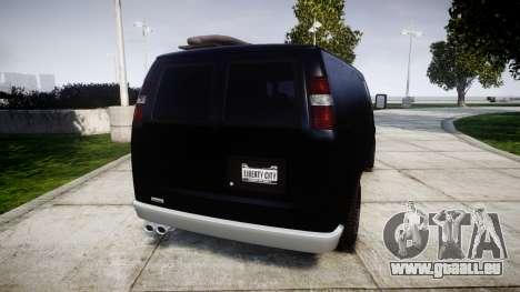 GTA V Bravado Rumpo pour GTA 4 Vue arrière de la gauche
