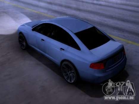 Obey Tailgater GTA V pour GTA San Andreas laissé vue