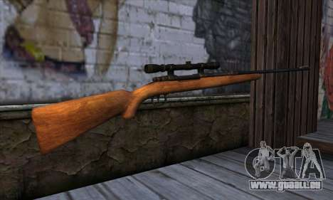 Sniper Rifle from The Walking Dead pour GTA San Andreas deuxième écran