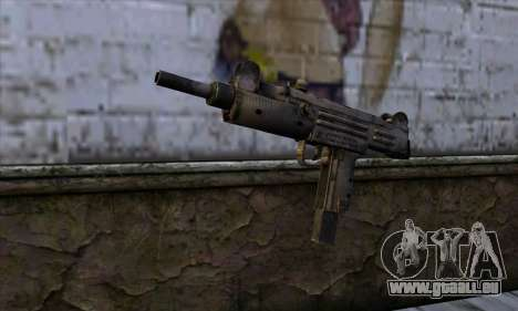 Uzi из Call of Duty Black Ops pour GTA San Andreas