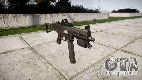 Allemand pistolet mitrailleur HK UMP 45 pour GTA 4