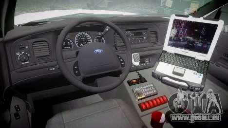 Ford Crown Victoria [ELS] Liberty County Sheriff pour GTA 4 Vue arrière