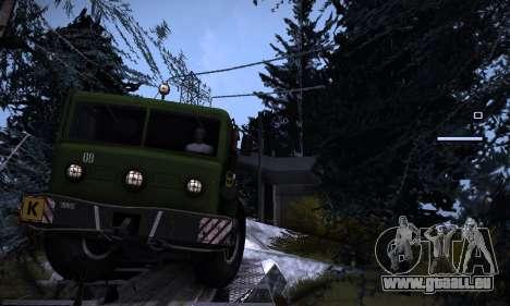 Piste off-road 2.0 pour GTA San Andreas deuxième écran