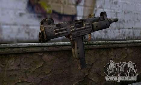 Uzi из Call of Duty-Black Ops für GTA San Andreas zweiten Screenshot