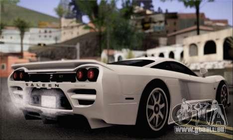Saleen S7 Twin Turbo für GTA San Andreas linke Ansicht