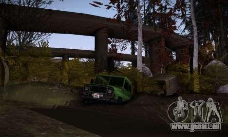Piste off-road 2.0 pour GTA San Andreas quatrième écran